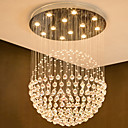 Χαμηλού Κόστους Λάμπες Σφαίρα LED-Κρυστάλλινο Πολυέλαιοι Χωνευτό φωτιστικό οροφής Γαλβανισμένο Μέταλλο Κρυστάλλινο, Περιλαμβάνεται λαμπτήρας, σχεδιαστές 110-120 V / 220-240 V Θερμό Λευκό / Ψυχρό λευκό / GU10