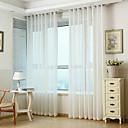 billige Gjennomsiktige gardiner-Europeisk Ren Et panel Ren Stue   Curtains