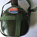 ราคาถูก การโกนและกำจัดขน-กาต้มน้ำ 1500 ml อลูมิเนียมอัลลอยด์ ฉนวน ทนทาน น้ำหนักเบาพิเศษ (UL) สำหรับ แคมป์ปิ้ง แคมป์ปิ้ง / การปีนเขา / เที่ยวถ้ำ เขตทุรกันดาร สีเขียว