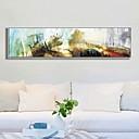 זול אומנות ממוסגרת-תמונת שמן ממוסגרת - מופשט אקרילי ציור שמן וול ארט