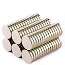 billige Koblinger & terminaler-80 pcs Magnetiske leker Supersterke neodyme magneter Magnetisk Magnetisk klistremerke Mini Leketøy Gave