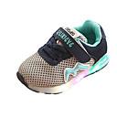 זול LED Shoes-בנות נעליים זוהרות סינטטיים נעלי אתלטיקה פעוט (9m-4ys) / ילדים קטנים (4-7) ריצה / הליכה שחור / אפור / ורוד קיץ / גומי