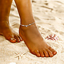 povoljno Nakit za tijelo-Žene Gležanj Narukvica Boemski stil Kratka čarapa Jewelry Pink Za Party Dnevno