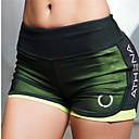 billige Sett med sykkeltrøyer og shorts/bukser-Dame Yogashorts Mote Netting Løp Trening Shorts Sportsklær Pustende Myk Butt Lift Mikroelastisk Tynn