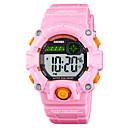 זול Skin Care-SKMEI®1484 ילדים שעונים 'ילדים Android iOS WIFI עמיד במים ספורטיבי המתנה ארוכה Smart צבע הדרגתי Alarm Clock לוח שנה אזור זמן כפול