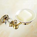 ราคาถูก ผ้าคลุมโซฟา-จานสบู่และตัวยึด Creative ทองเหลือง 1pc - ห้องน้ำ ติดผนัง