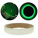 povoljno Muško prstenje-zeleni fluorescentni naljepnica noć svjetlosna traka trake decal ukras za stepenice vrata moto auto svjetlosne trake reflektirajuća