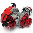 billige Bensinsystemer-49cc høy ytelse minimaloto lomme sykkel atv motor luftkjølt cnc sylinder trekk starter 2 slag
