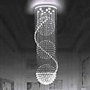 billiga Bordslampor-europeisk kristall ljuskrona trappa kristall lampa roterande trapplampa dubbel trapplampa vardagsrum lampa