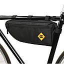 billiga Lys upp leksaker-B-SOUL 2 L Väska till cykelramen Bärbar Hållbar Cykelväska Oxfordtyg 300D Polyester Cykelväska Pyöräilylaukku Cykling Racercykel Mountain Bike Utomhus