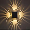 Χαμηλού Κόστους Ξεπλύνετε φώτα τοίχο Όρος-Νεό Σχέδιο / Απίθανο Παραδοσιακό / Κλασικό Λαμπτήρες τοίχου Εσωτερικό / Καταστήματα / Καφετέριες αλουμίνιο Wall Light IP44 85-265 V 1 W