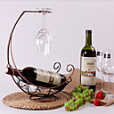 billige Vinhyller-1pc Smijern Vinhyller Vinhyller Klassisk Vin Tilbehør til barware