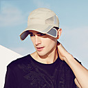 ราคาถูก ที่จัดเก็บของในครัว-Hiking Hat หมวกลูก หมวก 1 ชิ้น กันลม ป้องกันแดด ทน UV ระบายอากาศ สีทึบ ชุดชั้นในแบบChinlon ฤดูร้อน สำหรับ สำหรับผู้ชาย แคมป์ปิ้ง / การปีนเขา / เที่ยวถ้ำ การเดินทาง กลางแจ้ง สีเทา / แห้งเร็ว