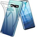 baratos Acessórios para Samsung-Capinha Para Samsung Galaxy S9 / S9 Plus / S8 Plus Antichoque / Ultra-Fina / Transparente Capa traseira Sólido Macia TPU