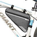billiga Väskor till cykelramen-B-SOUL 2 L Väska till cykelramen Triangle Frame Bag Vattentät Bärbar Reflexremsa Cykelväska Terylen Cykelväska Pyöräilylaukku Cykling Racercykel Mountain Bike Utomhus
