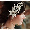 povoljno Svjetla putanja-Imitacija bisera Trake za kosu s Faux Pearl 1 komad Vjenčanje / Dnevni Nosite Glava