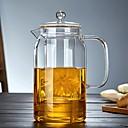 ราคาถูก การเก็บและการจัดระเบียบ-แก้ว น่ารัก Heatproof ผิดปกติ 1pc กาต้มน้ำ