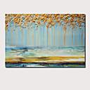 baratos Pinturas Paisagens-Pintura a Óleo Pintados à mão - Abstrato Paisagem Contemprâneo Modern Incluir moldura interna