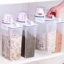 baratos Frascos e Caixas-1pç Armazenamento de alimentos Plásticos Armazenamento Para utensílios de cozinha