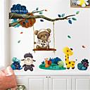 ราคาถูก สติกเกอร์ติดผนัง-สติ๊กเกอร์ประดับผนัง - Plane Wall Stickers สัตว์ต่างๆ สถานรับเลี้ยงเด็ก / ห้องสำหรับเด็ก