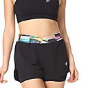 ราคาถูก ชุดออกกำลังกายและชุดโยคะ-Mountainpeak สำหรับผู้หญิง กางเกงขาสั้นวิ่งด้วยเสื้อรัดรูป สายผูก กีฬา กางเกงขาสั้น วิ่ง การออกกำลังกาย ระบายอากาศ แห้งเร็ว Sweat-wicking ลายบล็อคสี แฟชั่น สีดำ ขาว แดง ฟ้า