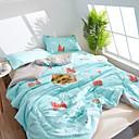 זול שמיכות וכיסויי מיטה-נוֹחַ - 1 יחידה שמיכה קיץ פוליאסטר פרחוני / פשוט