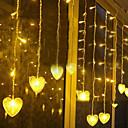 povoljno LED svjetla u traci-3.5m Žice sa svjetlima 96 LED diode Žuto Ukrasno 220-240 V 1set