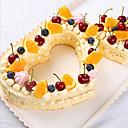 billige Girkuler-3pcs Plast Valentinsdag Kake Cake Moulds Bakeware verktøy