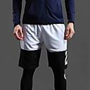 ราคาถูก รองเท้าผ้าใบผู้ชาย-สำหรับผู้ชาย กางเกงใส่วิ่ง กางเกงกีฬา ฝ้าย กีฬา กางเกง วิ่ง การออกกำลังกาย ยิมออกกำลังกาย ระบายอากาศ นุ่ม Sweat-wicking แฟชั่น แดงและดำ สีดำกับสีขาว ขาว สีเทา / ผสมยางยืดไมโคร