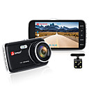billige Bil-DVR-junsun h7n bil dvr kamera dual lens ips 4.0 full hd 1080p videoregistrator nattsyn bilopptaker dash cam