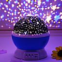 Χαμηλού Κόστους Φωτιστικά προβολέα-Star νυχτερινό φως προβολέα με δυνατότητα περιστροφής οδήγησε έξυπνη λάμπα προβολής usb φορτιστή ή 4 * aaa μπαταρία ρομαντική