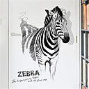 cheap Abstract Paintings-Creative personality Zebra decorations wall stickers fashion living room porch stickers simple bedroom study self-adhesive wall stickers