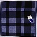 billige Vaskehåndklæ-Overlegen kvalitet Vaskehåndklæ, Pledd / Tern Ren bomull Baderom 1 pcs
