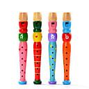 ราคาถูก เครื่องดนตรีของเล่น-Flute เสียง ทุกเพศ ผู้ใหญ่ เด็ก Toy ของขวัญ / ไม้