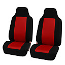 Χαμηλού Κόστους Καλύμματα καθισμάτων αυτοκινήτου-2pcs / καθολική καθίσματα καθίσματος καθίσματος αυτοκινήτων μοναδικό αναπνεύσιμο ύφασμα κάλυμμα καθίσματος πανί