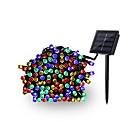 billige Neglelakk og gellakk-12m Lysslynger 100 LED EL 1Sett monteringsbrakett Multifarget Vanntett / Solar / Dekorativ 4 V 1set