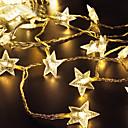 זול מצלמות פנים רשת IP-lende 2m 20 מורות מחרוזת אורות חם לבן / rgb / לבן השמש מופעל חג המולד חג החתונה קישוט צד התאורה