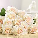 olcso Művirágok-Művirágok 1 Ág Klasszikus Esküvő Európai Rózsák Örök Virágok Asztali virág