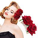 billiga Huvudsmycken till fest-Flanell / Legering Hair Combs med Blomkam / Blomma 1 st. Bröllop / Speciellt Tillfälle Hårbonad