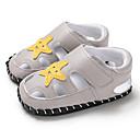 ราคาถูก รองเท้าแตะเด็ก-เด็กผู้ชาย / เด็กผู้หญิง สำหรับการเดินครั้งแรก PU รองเท้าแตะ ทารก (0-9m) / เด็กวัยหัดเดิน (9m-4ys) สีดำ / สีเทา / สีน้ำตาล ฤดูร้อน / ยาง