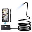billige Mikroskop og endoskop-5,5mm 1080phd wifi inspeksjon kamera 5m lengde wifi borescope med 6 ledet lys vanntett endoskop for android ios iphone huawei