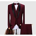 זול חליפות רטובות,חליפות צלילה וחולצות ראש-גארד-בגדי ריקוד גברים אודם אפור כהה יין XXXL XXXXL XXXXXL חליפות מידות גדולות אחיד רזה