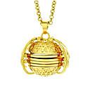 Χαμηλού Κόστους Κρεμαστά Κολιέ-Ανδρικά Γυναικεία Κρεμαστά Κολιέ Γεωμετρική Άγγελος Μοντέρνα Χρώμιο Λευκό Ασημί Χρυσό Τριανταφυλλί 62 cm Κολιέ Κοσμήματα 1pc Για Δώρο Καθημερινά