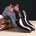 ราคาถูก รองเท้าOxfordสำหรับผู้ชาย-สำหรับผู้ชาย รองเท้าอย่างเป็นทางการ หนังสิทธิบัตร ฤดูร้อนฤดูใบไม้ผลิ / ฤดูใบไม้ร่วง & ฤดูหนาว ธุรกิจ / อังกฤษ รองเท้า Oxfords ไล่โทนสี สีเทา / แดง / ฟ้า / พรรคและเย็น