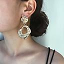 זול עגילים-בגדי ריקוד נשים עגילי טיפה עגיל הלם עגילים תכשיטים זהב / כסף עבור יומי רחוב חגים עבודה פֶסטִיבָל זוג 1