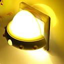 Χαμηλού Κόστους Βάζα & Καλάθι-1pc Wall Plug Nightlight Κίτρινο USB Δημιουργικό <=36 V