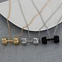 billige Tilbehør til herrer-Herre Anheng Halskjede Chrome Gull Svart Sølv 50 cm Halskjeder Smykker 1pc Til Daglig