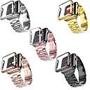 billige Smartbrytere-smartwatch båndvesker til Apple Watch serien 4/3/2/1 Apple moderne spenne rustfritt stål band plast tilfeller iwatch fashion belt