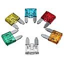 זול צעצועים מגנטיים-60pcs מעורבב מיני להב פיוז סגסוגת אבץ חומר פלסטי 5a 10a 15a 20a 25 30 amp להגדיר עבור משאית רכב אוטומטי