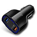 billige Fjernstyrte biler-rask ladning 3.0 med USB-type c bil lader innebygd strømforsyning pd port 35w 3 porter for Apple iPad iPad x / 8 / Plus / Samsung Galaxy / LG Nexus Htc